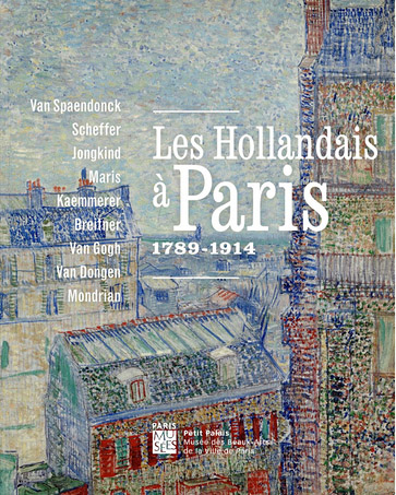 Affiche expo Les Hollandais à Paris