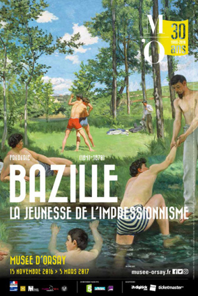 affiche expo Bazille