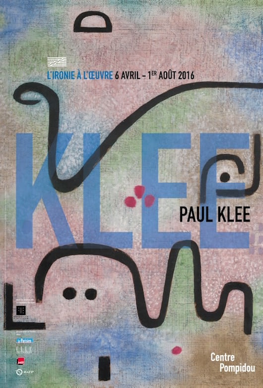 affiche expo Klee