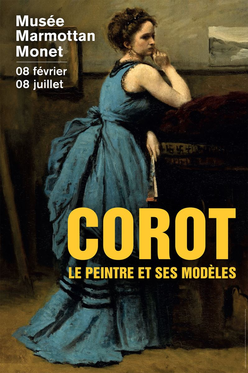 affiche expo corot